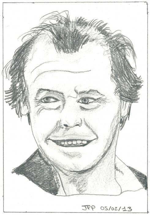 Jack Nicholson by Boiteadessins